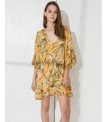 vestido amarillo wanama bellagio sun rue