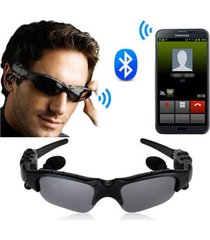audífonos bluetooth, gafas de sol audifonos bluetooth manos libres  auriculares gafas al aire libre auriculares música con micrófono auriculares estéreo inalámbrico (negro)