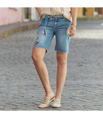 lark denim shorts
