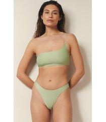 josefine hj x na-kd recycled bikinitrosa med hög benskärning - green