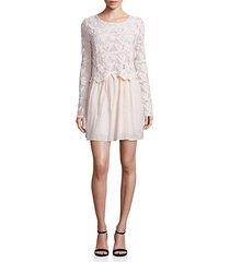 lace cotton voile dress