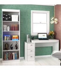 escritório completo 25901 branco tx - hecol