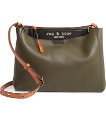 rag & bone passenger leather crossbody bag -