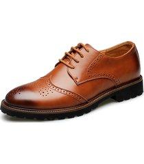 scarpe da sposa vintage brogue intagliate da uomo. stringate le stringate
