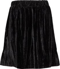 cece skirt kort kjol svart modström