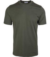 fedeli khaki green man t-shirt