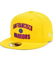 new era men's san francisco warriors custom 9fifty snapback cap