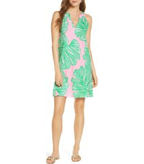 women's lilly pulitzer ross shift dress, size small - pink