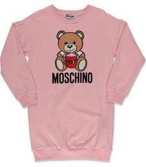 """teddy bear"" sweatshirt dress"