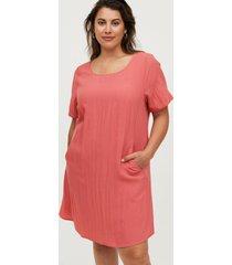 klänning vmacy s/s abk rib dress
