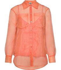 minty blouse lange mouwen oranje baum und pferdgarten