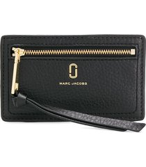 marc jacobs the softshot card case - black