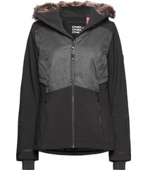 pw halite jacket outerwear sport jackets svart o'neill