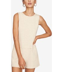 b new york sleeveless romper