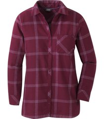 blusa cedar cove tunic morado outdoor research