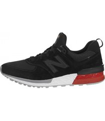 zapatillas new balance 574 sport tier 1 black