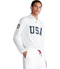 polo ralph lauren men's team usa mesh pullover