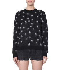 saint laurent sweater in mohair