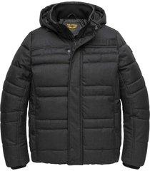 hooded jacket liftmaster black