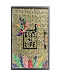 szafka na klucze wieszak na klucze exotic