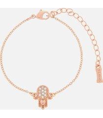 ted baker women's hersha hidden heart hand bracelet - rose gold