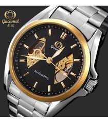reloj- relojes informal de negocios de moda reloj-negro