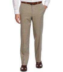 perry ellis portfolio classic-fit no iron nailhead men's dress pants