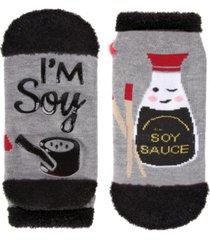 memoi i'm soy into you women's low cut socks