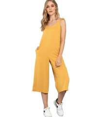 enterizo cozy amarillo ragged pf11530072