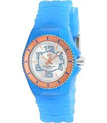 reloj technomarine tm-115135 azul silicona