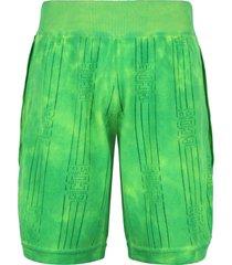 gcds knit bermuda shorts