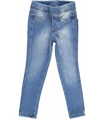 calã§a feminina jegging crawling jeans moletom - azul - menina - dafiti