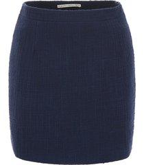 alessandra rich tweed skirt