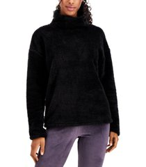 32 degrees mock-neck fleece sweater