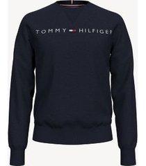 tommy hilfiger men's essential logo sweatshirt sky captain - s