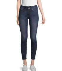 true religion women's jennie mid-rise curvy skinny jeans - dark - size 25 (2)