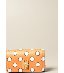 moschino couture mini bag polka dots moschino couture leather bag with logo