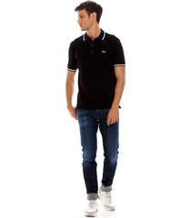 polo para hombre stretch piquet replay