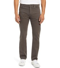 men's dl1961 avery modern straight leg jeans, size 33 x 34 - grey