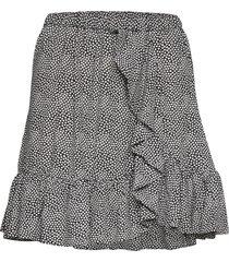 foliage rfl skirt kort kjol multi/mönstrad michael kors