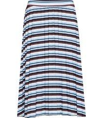 skirt knitwear knälång kjol blå gerry weber edition