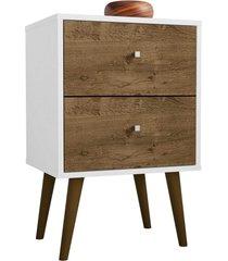 modulo 450 mb2015 branco e madeira rústica móveis bechara