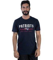 t-shirt new era regular new england patriots marinho - azul marinho - masculino - dafiti