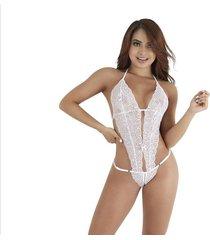 body catsuits encaje lencería sensual - bésame-blanco