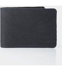 billetera de cuero para hombre rústico