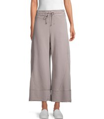 free people movement women's where the wind blows pants - apres blue - size s