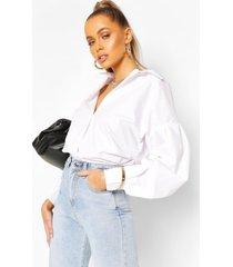 oversized blouse, wit