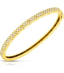 women's roberto coin symphony pois mois diamond bangle bracelet