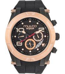 reloj mulco para hombre - kripton viper  mw-5-4828-023