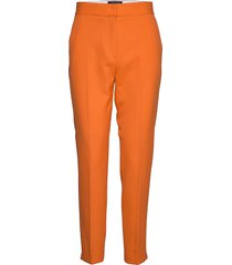 adisa sundae suiting tlrd trs pantalon met rechte pijpen oranje french connection